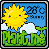 Weather Widget Plant Me