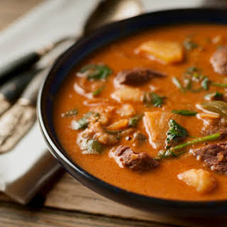 Thai Red Curry Duck.