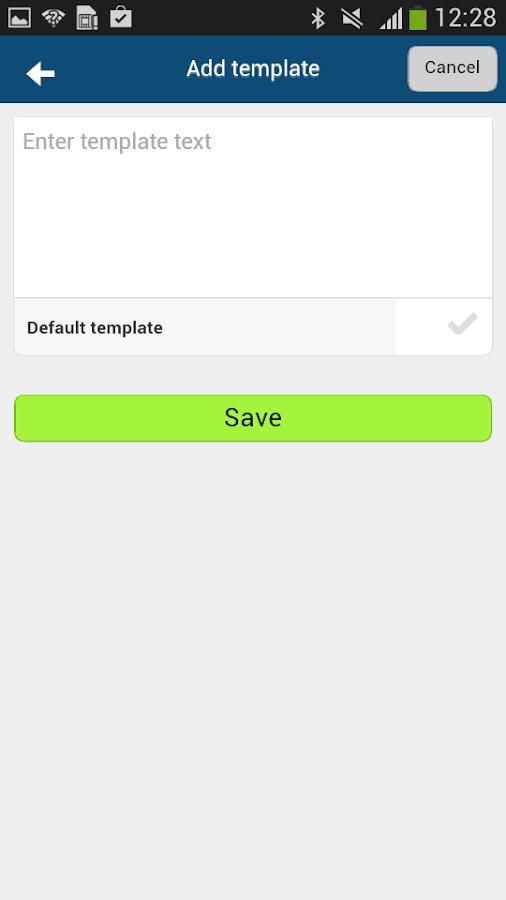 MyNotifier - screenshot