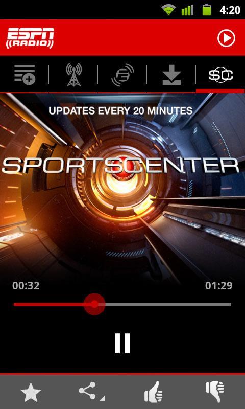 ESPN Radio screenshot #7