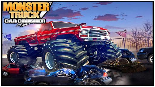 Monster Truck Car Crusher
