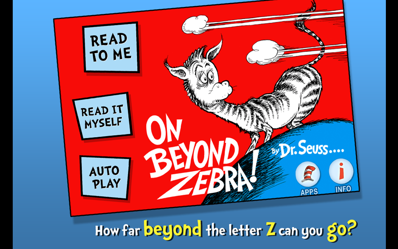 On Beyond Zebra!- screenshot