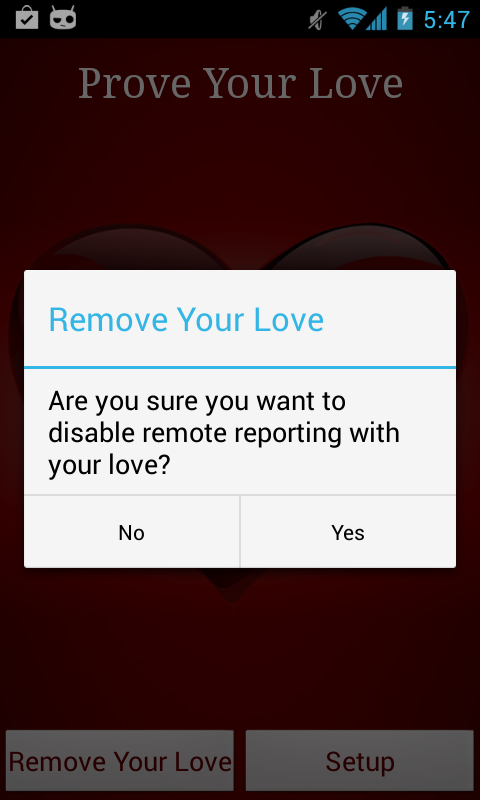 Prove Your Love - FREE - screenshot