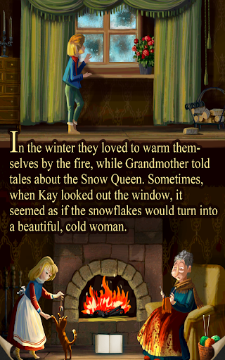 【免費家庭片App】The Snow Queen, Animated Story-APP點子
