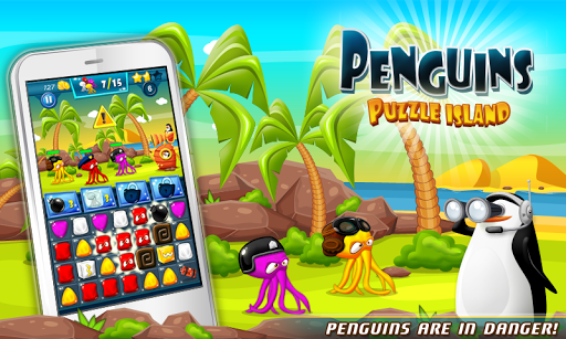 Penguins: Puzzle Island HD