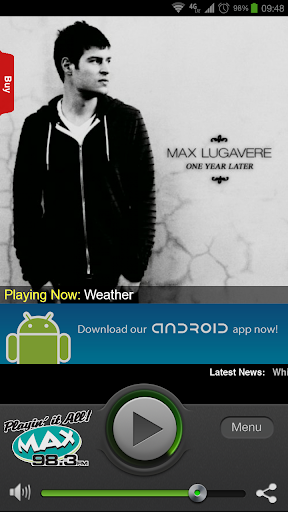 【免費音樂App】MAX 98.3 FM-APP點子