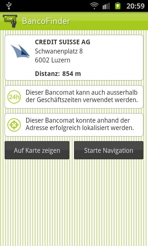 BancoFinder - screenshot