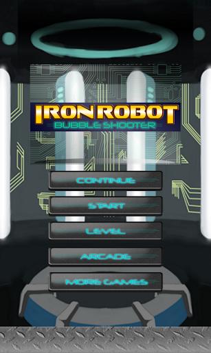 鉄ロボットバブルシューター魔女