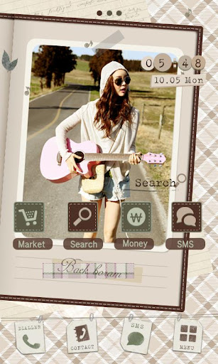 CUKI Theme Baek boram Travels