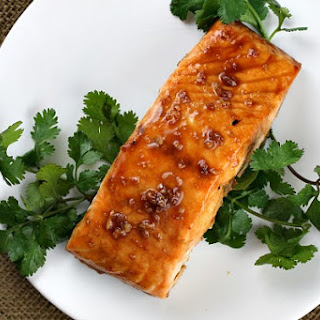 Asian Salmon Steaks.