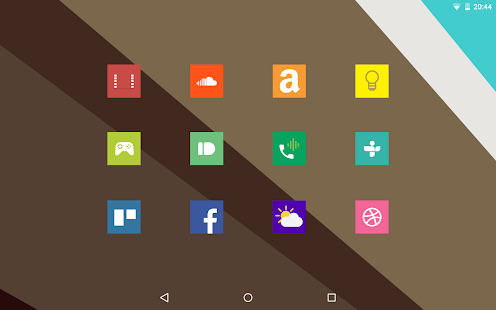 Square Icon Pack Free Screenshot