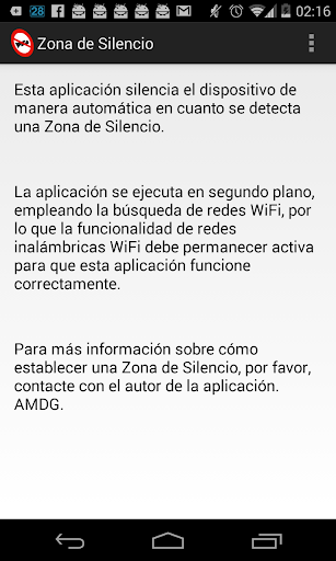 Silence Zone