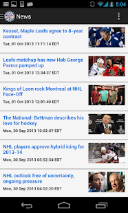 CBC Hockey - screenshot thumbnail