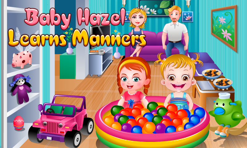 Baby Hazel Learns Manners- screenshot