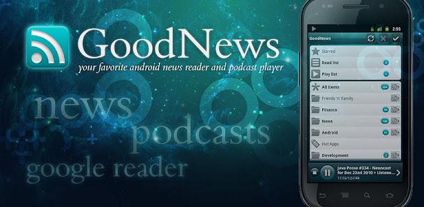 GoodNews Ad free (Google Reader | RSS) v3.2.1