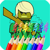 Ninja Coloring Book for Kids