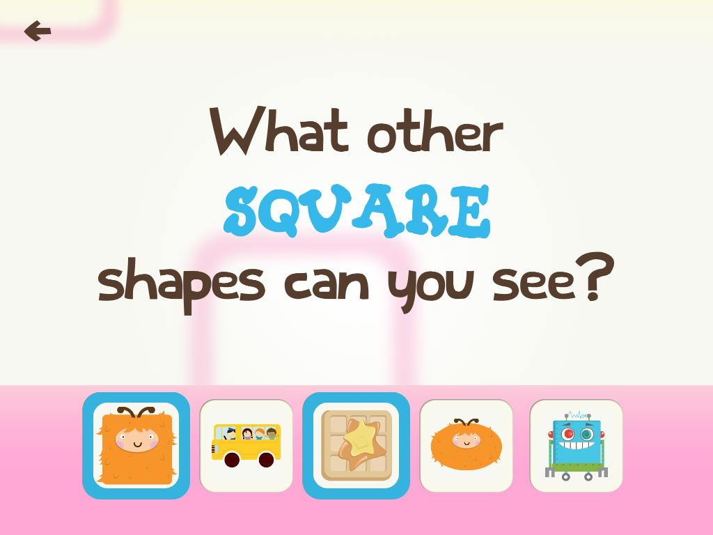Toddler Learning Games Ask Me Shape Games for Free- screenshot