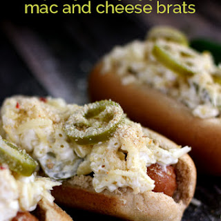 Jalapeno Popper Mac and Cheese Brats