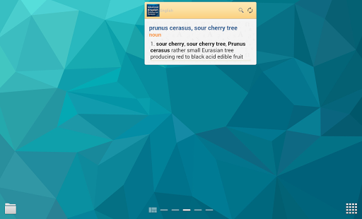 Advanced English & Thesaurus - screenshot thumbnail
