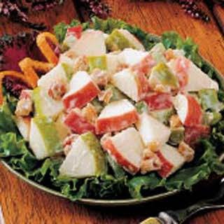 Waldorf Salad for Two.