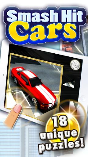 Smash Hit Cars 3D kids puzzles