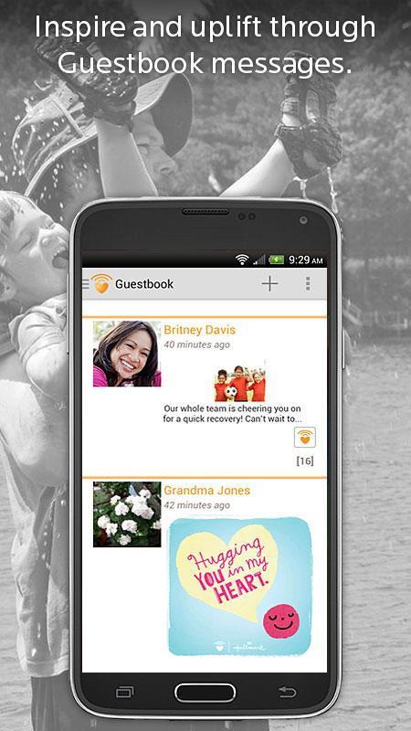 CaringBridge - screenshot