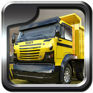 Heavy dump truck 3D parking for PC and MAC