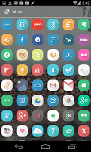 Influx Icon Pack (DEMO) - screenshot thumbnail