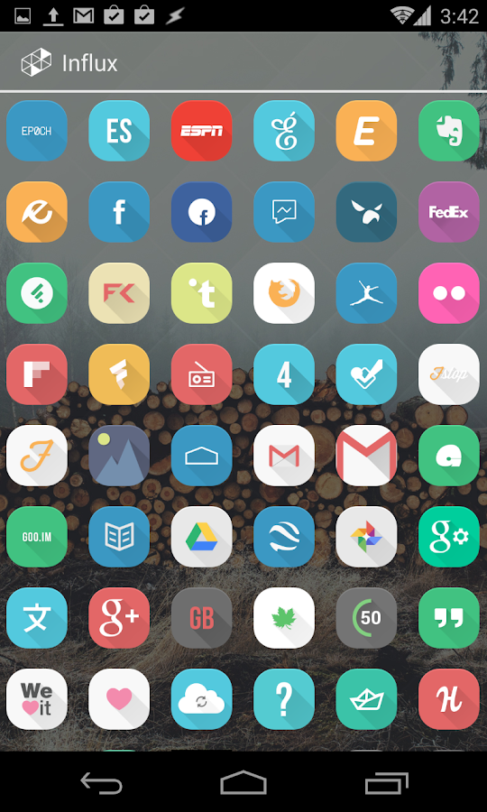 Influx Icon Pack (DEMO)- screenshot