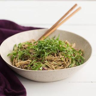 Cold Soba Noodle Bowl