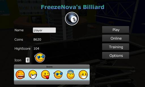 FreezeNova's Online Billiard