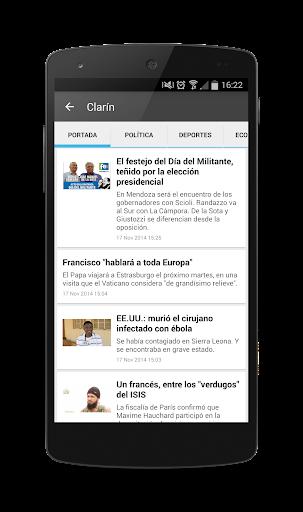 【免費新聞App】Argentina Noticias-APP點子