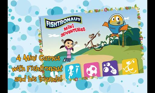 街機必備APP下載 Fishtronaut: Mini Adventures 好玩app不花錢 綠色工廠好玩App