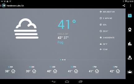 1Weather:Widget Forecast Radar Screenshot 1