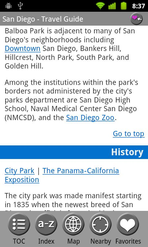 San Diego - FREE Travel Guide - screenshot