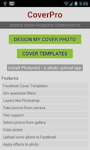 CoverPro design cover photo screenshot 2