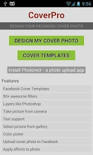 CoverPro design cover photo- screenshot thumbnail