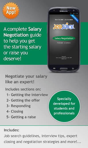 Salary Negotiation Jobjuice