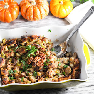 Mushroom and Pecan Stuffing with Fresh Herbs