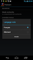 Screenshot of Offline French German Dict.