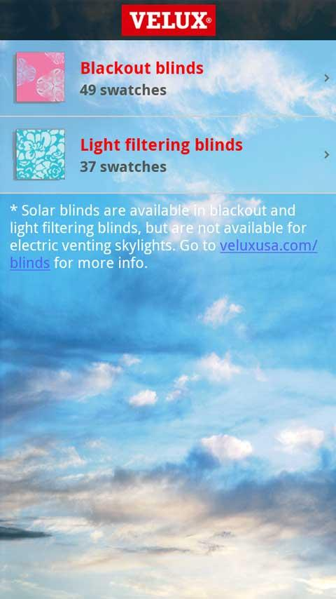 VELUX Skylight Planner- screenshot