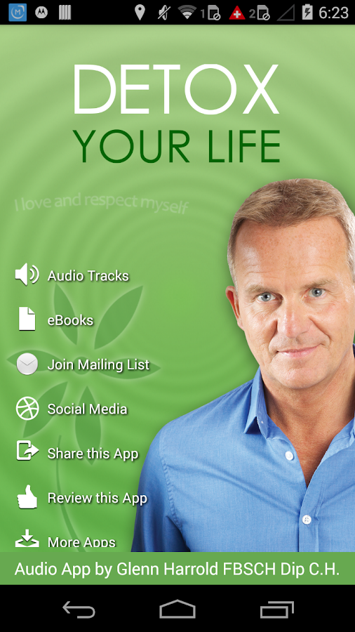 Detox Your Life Hypnosis & Meditation to Destress- screenshot
