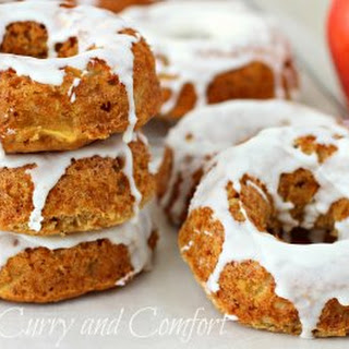 Apple Cinnamon Cake Donuts.