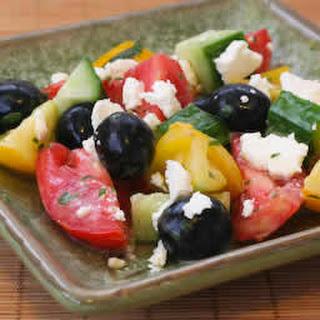 Wanna-Be Greek Salad.