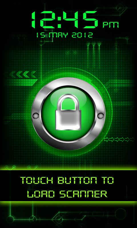 FingerPrint Phone Security - screenshot