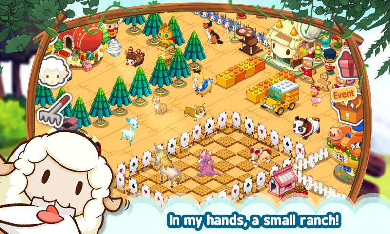 LINE TINYFARM - screenshot
