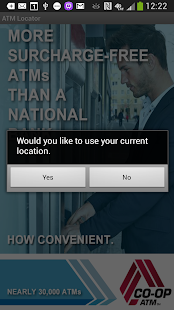 CO-OP ATM Locator- screenshot thumbnail