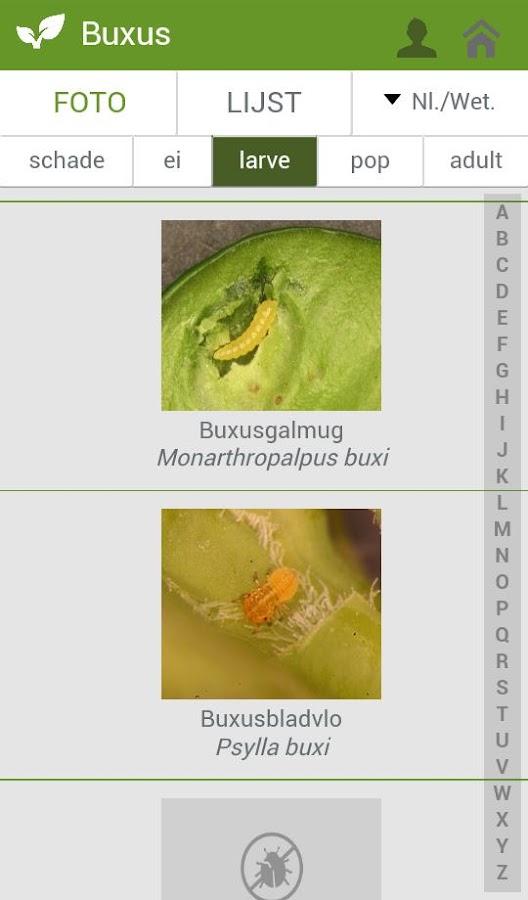 PCS Ziekten en Plagen - screenshot