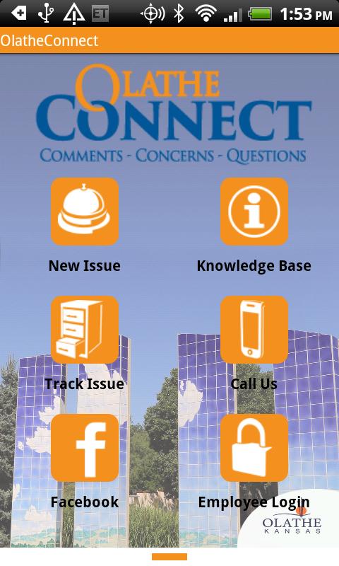 OlatheConnect - screenshot