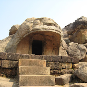 Cave of Khandagiri by Priyanka Barua - Buildings & Architecture Public & Historical ( caves )